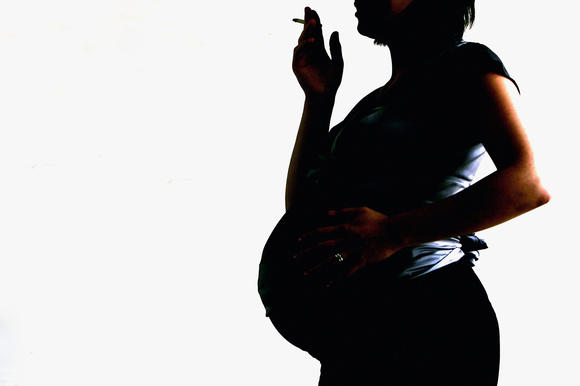 Research has shown that smoking during pregnancy damages a baby's airways before the child is born.