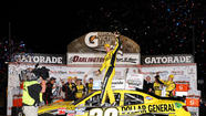 Joey Logano pulls away at Darlington for second straight Nationwide win