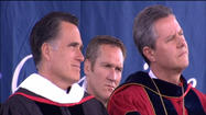 PHOTOS: Mitt Romney speaks at Liberty University graduation