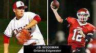 Most people know J.B. Woodman as the quarterback for the Edgewater High Eagles.