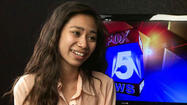 'Idol' Contestant Jessica Sanchez Comes Home