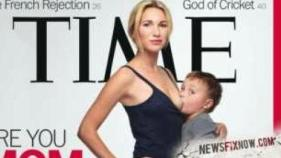 4-year-old breastfeeds on the cover of Time