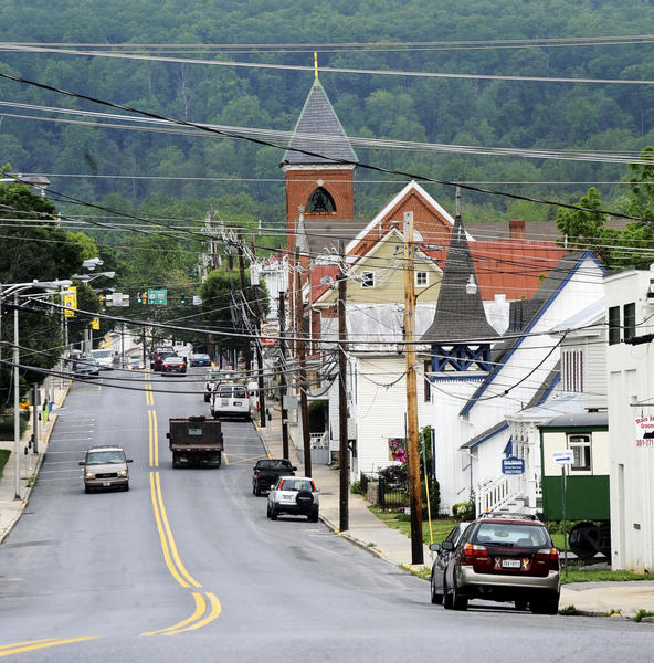 Main Street of the town of Thurmont, Md. will be gearing up for the G-8 Summit that will be held May 18th and 19th.