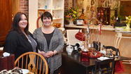 Jamie Leisy and Dawn Keagy scan estate sales and garage sales in search of furniture and accessories they can refurbish or re-purpose.