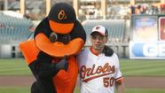 Eldersburg man celebrates golden anniversary as Orioles usher