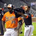 Bill Hall, Adam Jones