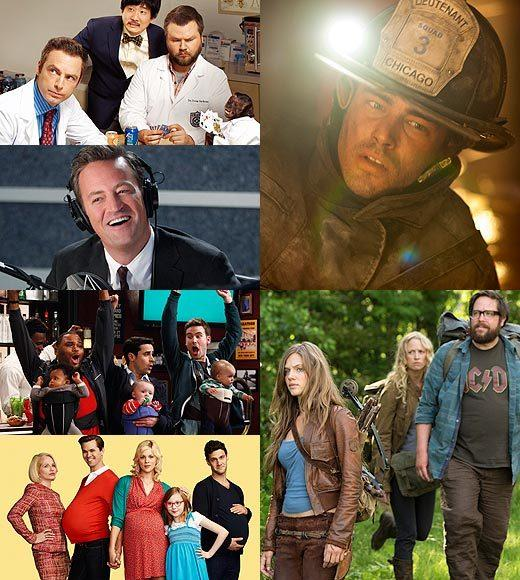 Fall TV 2012: New shows from ABC, CBS, NBC, FOX and The CW: NBC is attempting to remake its image this fall with only two new dramas and four new comedies, plus an additional six new shows coming at midseason. Theyre also throwing in four new unscripted alternative series for good measure.  Related:  NBCs Fall schedule: Night by night NBC Fall: Community on Fridays, four nights of comedy Double dose of The Voice coming