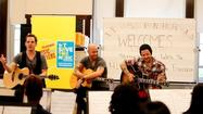 Interview: Daughtry rocks out with the school band