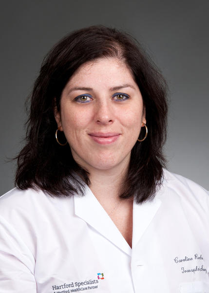 Dr. Caroline Rochon has joined Hartford Hospital and Hartford Specialists as a transplant surgeon.