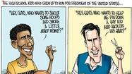 High school Romney vs. high school Obama