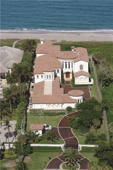 2363 S Ocean Blvd Highland Beach, FL 33487; Beds: 4; Baths: 10; House Size: 13,937 Sq Ft Year Built: 2005