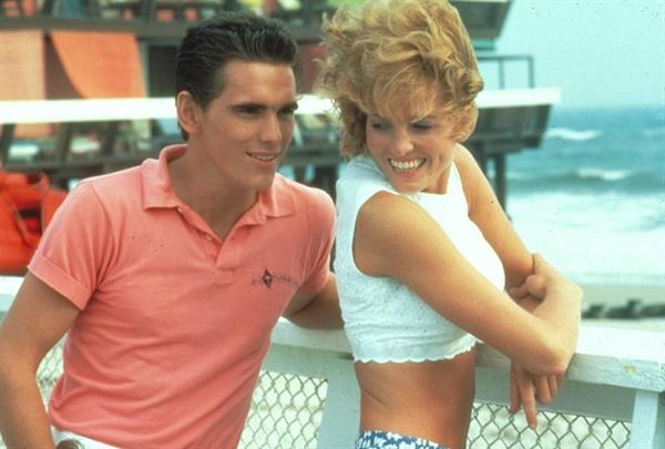 "Matt Dillon in a scene from the 1984 movie ""The Flamingo Kid."""