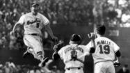 "<a href=""/bal-brooksstories,0,1089790.storygallery"">Brooks Robinson</a>  owned third base. Still does. At his sendoff in 1977 — a ""Thanks, Brooks"" Day at a packed Memorial Stadium — Robinson's successor, Doug DeCinces, removed third base from its moorings and presented it to the Orioles  veteran."