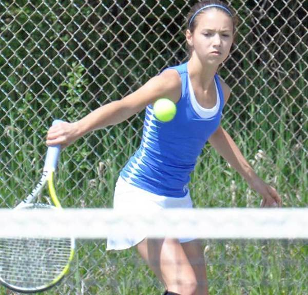 Petoskey freshman Sydney Chambers is seeded No. 1 at No. 4 singles in the Division III regional. The Northmen play in the regional on Friday, May 18, at Spring Lake.