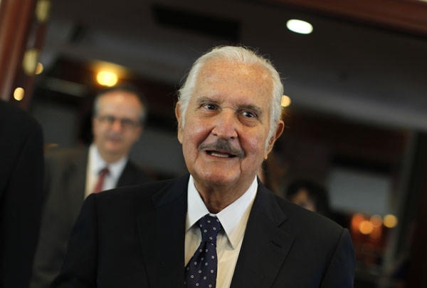 Notable deaths from 2012: Mexican author Carlos Fuentes, known for works including The Death of Artemio Cruz and The Old Gringo, passed away at age 83.