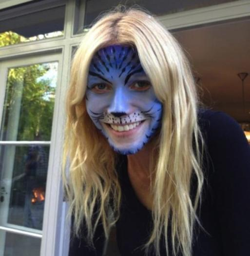 Gwyneth Paltrow Is the Cat's Meow in Feline Face Paint