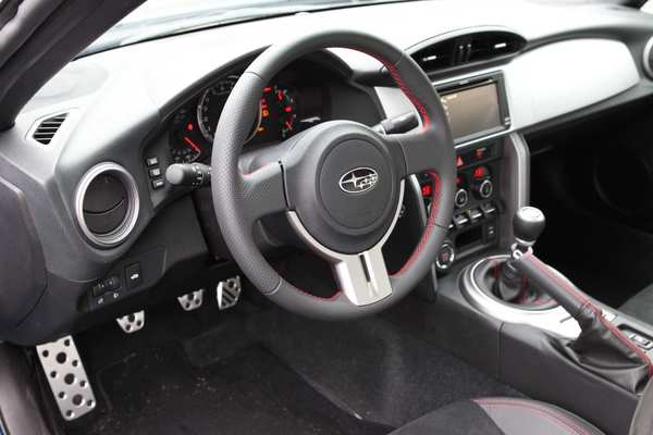 A base BRZ with items such as the manual transmission, a limited-slip differential and six air bags. It also has a slow, 6-inch touch-screen navigation system with iPod control, 196-watt amplifier, Bluetooth and XM satellite radio and traffic.