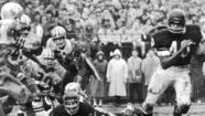 1965: Gale Sayers runs against San Francisco