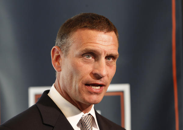 Illinois athletic director Mike Thomas is looking to schedule football games in Chicago.
