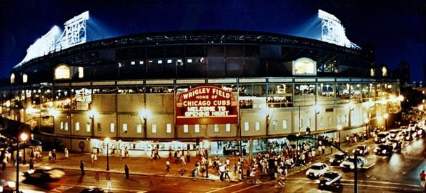 Vintage photos capture Wrigley Field moments in time: 1988: The first Opening Night