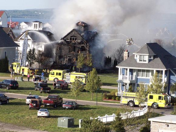 House fire in Bay Harbor