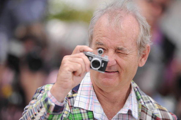 "Bill Murray attends the ""Moonrise Kingdom"" photo call during the Cannes Film Festival on Wednesday."