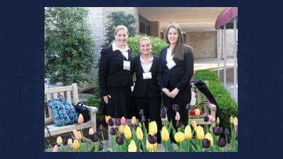 Rockwood Future Business Leaders of America national qualifiers are from left, Jennifer Johnson, Ashley Beener and Elle Enos.