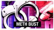Three Blacksburg men have been on methamphetamine charges in the McCoy part of Montgomery County.