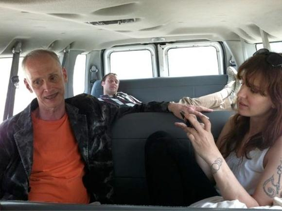 The hitchhiker...John Waters