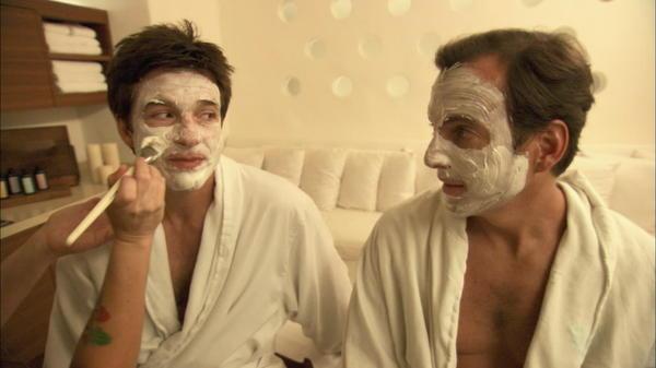 """Jason Bateman and Will Arnett in """"Mansome.:"""