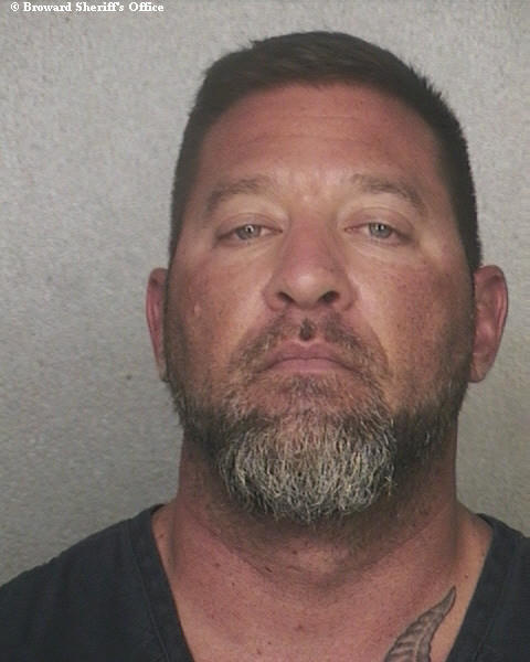 12-year veteran Broward Sheriff's Detective Anthony Costanzo was arrested and charged with witness tampering on Wed., May 16, 2012.