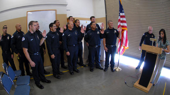 El Centro Fire Department Firefighters Promoted