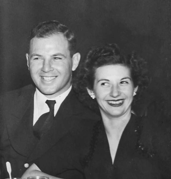 Mr. and Mrs. Gordon Hewitt, 1942