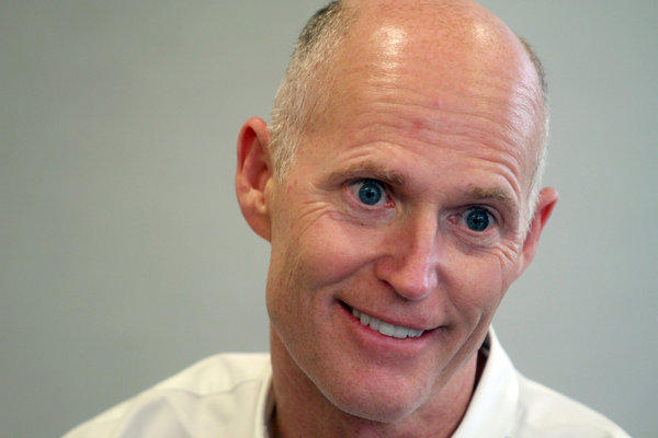 Last place went to Gov. Rick Scott, who was viewed favorably by just 37 percent of voters and unfavorably by 45 percent.