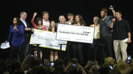 Award-winning country trio Lady Antebellum raised more than $285,000 at a concert benefiting Henryville, Ind., the town heavily damaged by an EF-4 tornado in early March.
