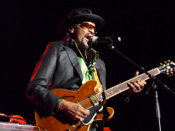 Chuck Brown played at the Hampton Funk Fest in November.