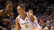 WESTERN CONFERENCE<br>Diana Taurasi Of The Phoenix Mercury