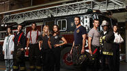 "The three minute trailer for the upcoming NBC drama ""Chicago Fire"" features firefighters battling flames in a collapsing building, a firefighter receiving a ""Pulp Fiction""-like needle through the chest, and two people sucking face in the shower, but it's the unexpected cameo by <strong>Mayor</strong> <strong>Rahm Emanuel</strong> that most caught my attention."