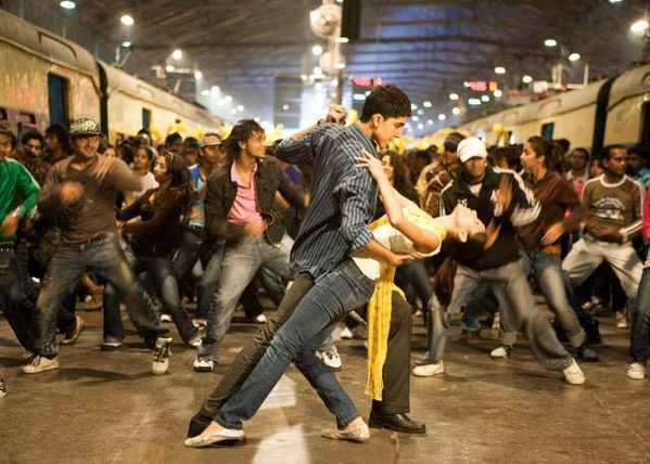 "A scene from the 2008 movie ""Slumdog Millionaire,"" which is being adapted as a London musical."