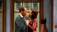 "Larry Bates and Kristy Johnson in South Coast Repertory's 2012 production of ""Jitney"" by August Wilson."