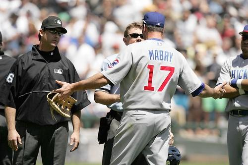 John Mabry also wants to know why he's ejected.