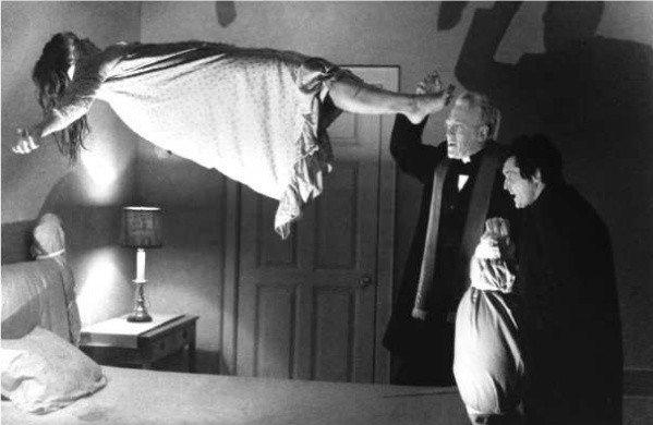 "A scene from the 1973 movie ""The Exorcist,"" with Linda Blair, Max von Sydow and Jason Miller, which is being adapted into a new stage version."