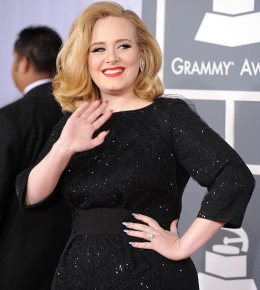 "<b>WINNER: Adele - ""21"" (pictured)</b><BR> Michael Buble - ""Christmas""<BR> Drake - ""Take Care""<BR> Lady Gaga - ""Born This Way""<BR> Lil Wayne - ""Tha Carter IV"""