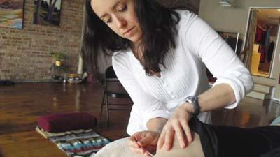 Sarah Lange operates Live Well Acupuncture and Massage in Petoskey.