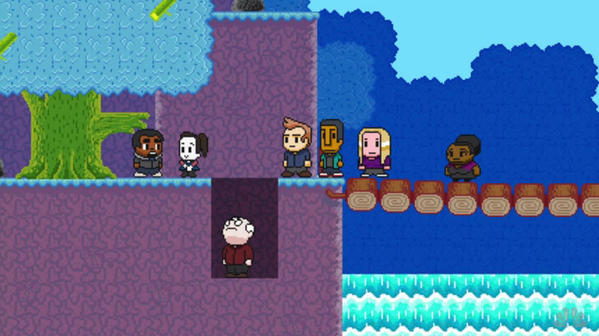 8-bit version of 'Community'