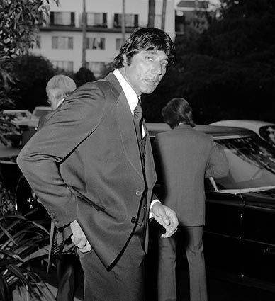 Former NFL quarterback Joe Namath in March 1975.