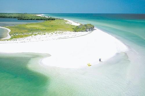 "Caladesi Island near Dunedin was the No. 1 beach in the nation on Stephen ""Dr. Beach"" Leatherman's 2008 survey of United States beaches."