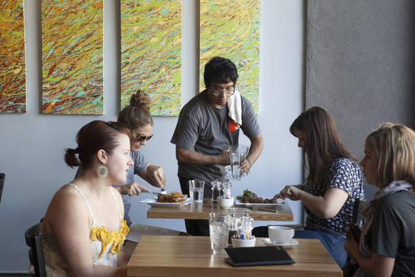2 Sparrows serves brunch dishes inspired by locally grown, seasonal produce.