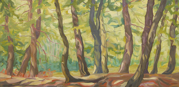 Lynn Uhlmanns paintings in a show titled The Conversations of Trees will be on display through Friday, May 25, at The Council for the Arts in Chambersburg, Pa.