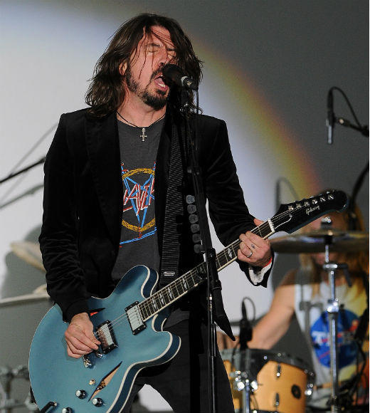 Teen Choice Awards 2012 Nominees: The Black Keys  Foo Fighters (pictured) Foster The People  fun.  Linkin Park